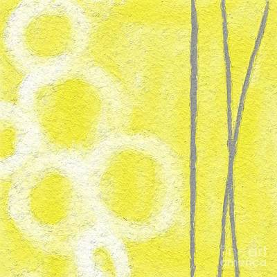 Yellow And Grey Abstract Art Prints