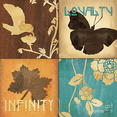 Flora Mixed Media Prints