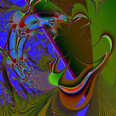 Apnea Digital Art Prints