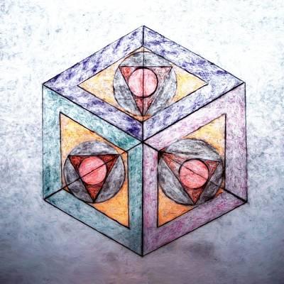 Cubicle Mixed Media