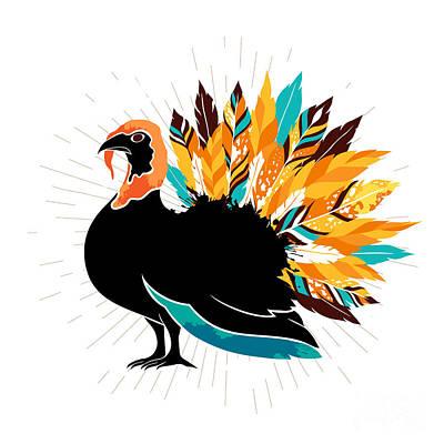 Turkey Feather Art