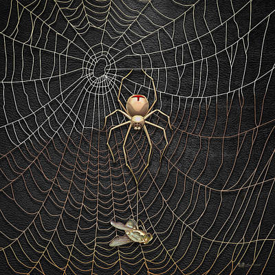 Spider Digital Art Original Artwork