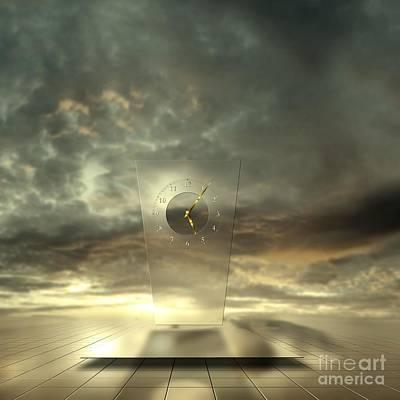 Reflecting Water Digital Art Prints