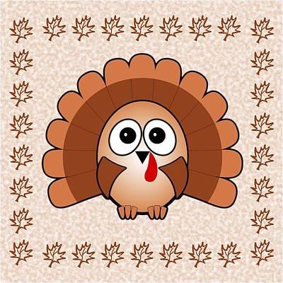 Wild Turkey Mixed Media