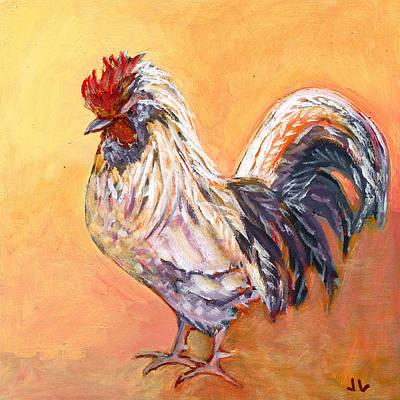 Chicken Portrait Art