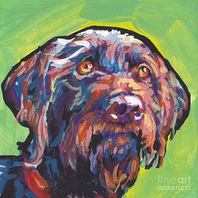German Wirehaired Pointer Posters