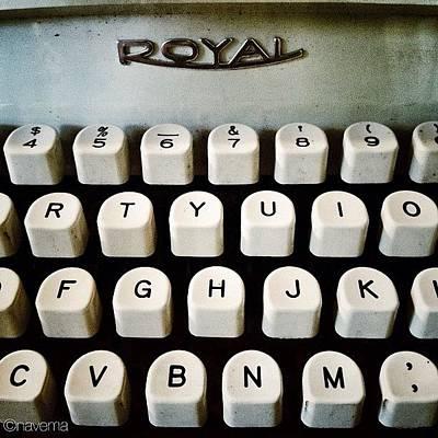 Typewriter Posters