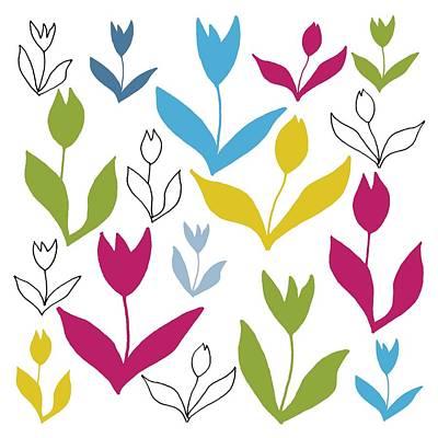 Colors Of Spring Digital Art