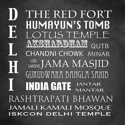 Designs Similar to Delhi Famous Landmarks