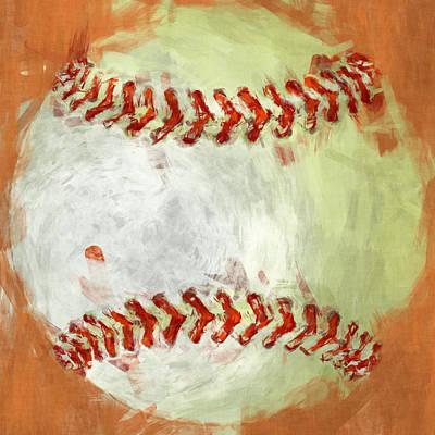Baseball Digital Art Prints