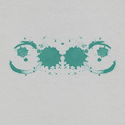 Designs Similar to Abstract Teal Rorschach