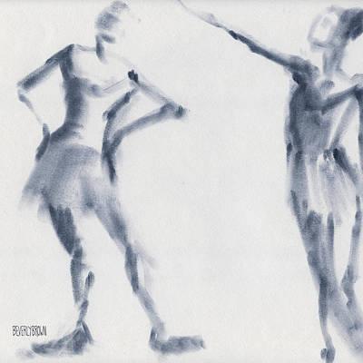 Designs Similar to Ballet Sketch Two Dancers Shift