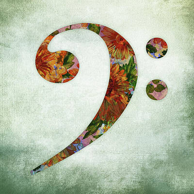 Designs Similar to Bass Clef Floral by Flo Karp