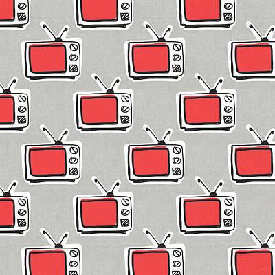 Tv Set Digital Art