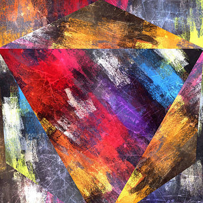 Designs Similar to Bold Abstract Colored Pyramid