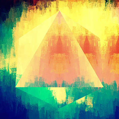 Designs Similar to Bright Bold Abstract Pyramid