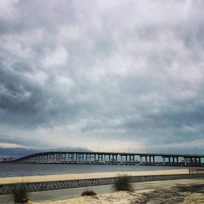 Designs Similar to Cloudy Skies #biloxi #bridge