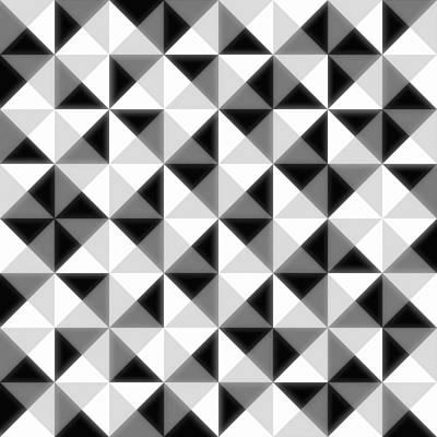 Gray Abstract Digital Art