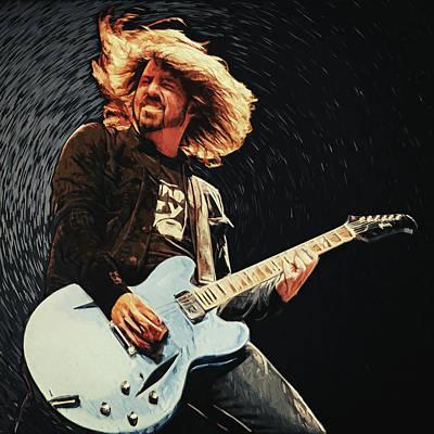 Gibson Sg Digital Art