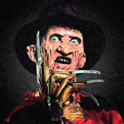 Nightmare On Elm Street Paintings