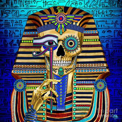 Pharaoh Mixed Media