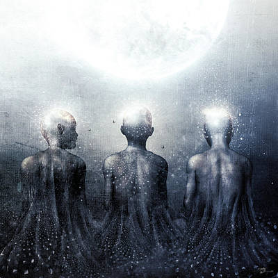 Gray Ghost Digital Art