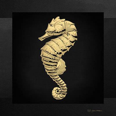 Seahorse Digital Art Original Artwork