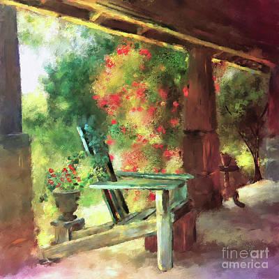 Porch Digital Art