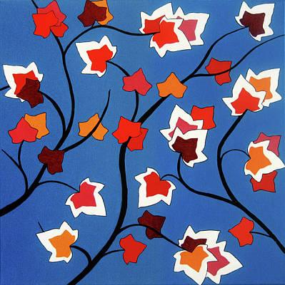 Leaf Pattern Original Artwork