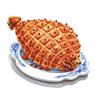 Designs Similar to Ham On The Plate