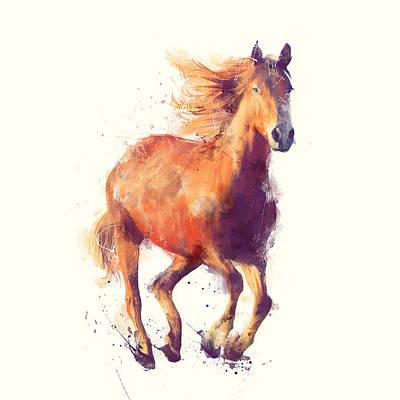 Running Horse Art