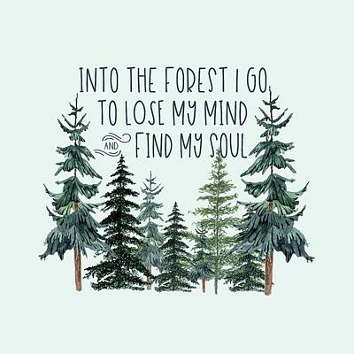 Into The Woods Art