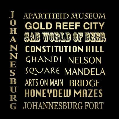 Designs Similar to Johannesburg Famous Landmarks