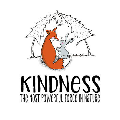 Designs Similar to Kindness Fox And Bunny