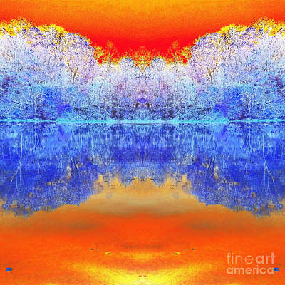 Indiana Autumn Scenes Digital Art Prints