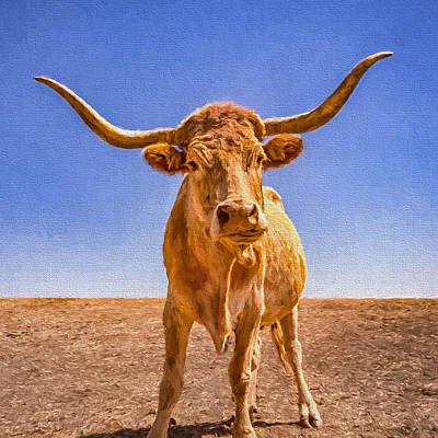 Designs Similar to Angry Longhorns