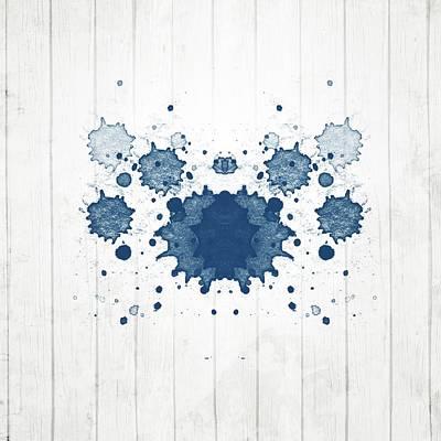 Designs Similar to Navy Blue Rorschach