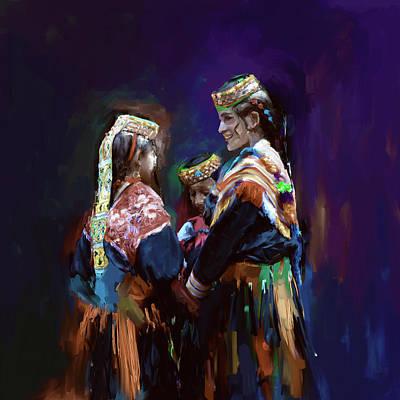 Designs Similar to Painting 784 3 Kailash Women