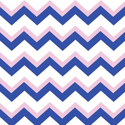 Designs Similar to Pink Blue Chevron Pattern