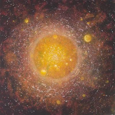 Intergalactic Space Paintings Original Artwork