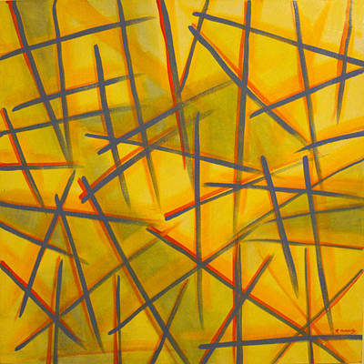 Maggie Hernandez: Crosshatch Art