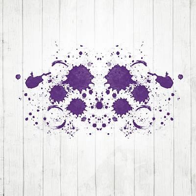 Designs Similar to Purple Rorschach II