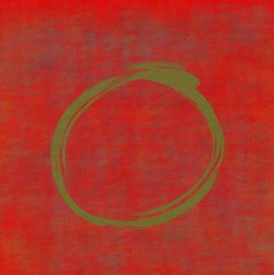 Designs Similar to Red Green Enso by Julie Niemela