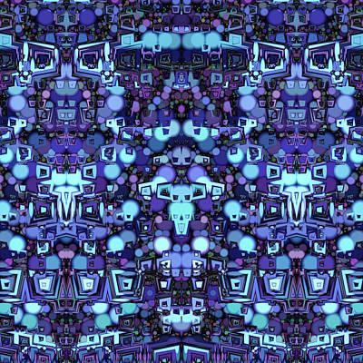 Trippy Maze Art Art