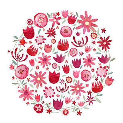 Watercolour Garden Art Prints