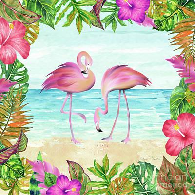 Designs Similar to Summertime Flamingos 1
