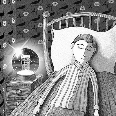 Eerie Drawings Prints