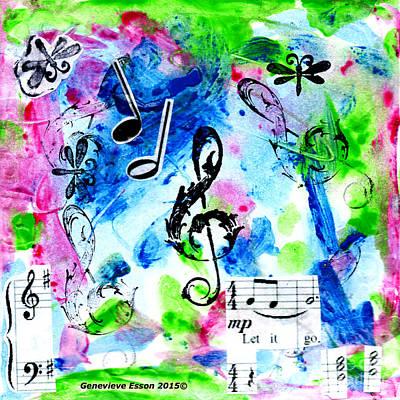 Concert Mixed Media Original Artwork
