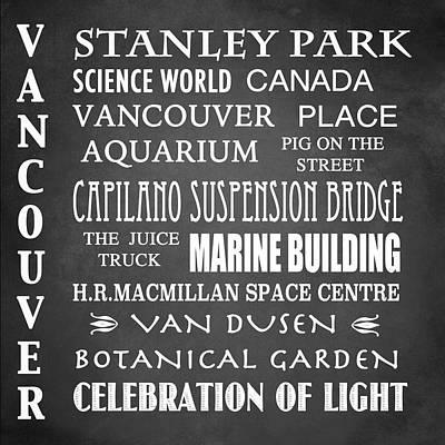 Designs Similar to Vancouver Famous Landmarks