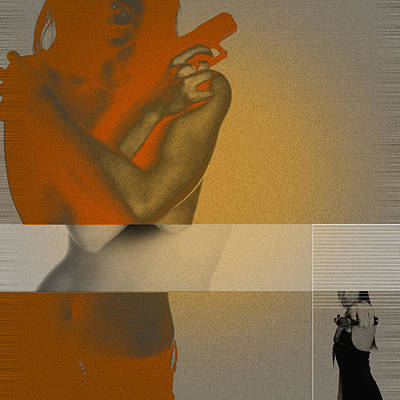 Nude Models Mixed Media Prints